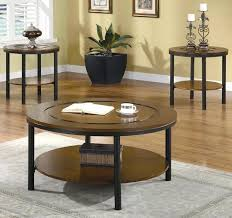 julez set of 2 side tables in antique brass by woood round coffee occasional table sets