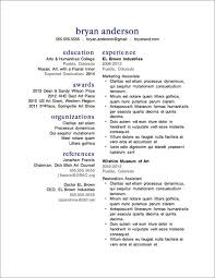 7 Free Resume Templatesfree Resume Templates Word With Photo