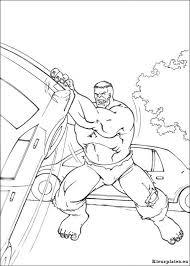 Hulk Kleurplaten Printen