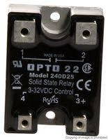 240d25 opto 22 solid state relay 25 a 280 vac panel screw opto 22 240d25
