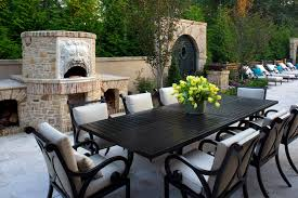 dark wood patio furniture designs