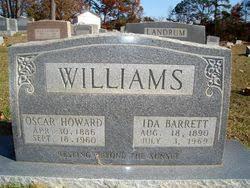Ida Barrett Williams (1890-1969) - Find A Grave Memorial