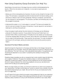 example of expository essay expository essay at com expository essay at com view larger