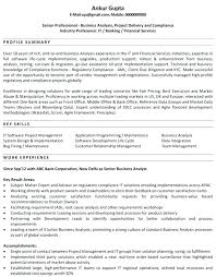 It Analyst Resumes It Analyst Resume Letsdeliver Co