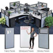 office desk dividers. Interion® Standard Office Cubicle Partitions Desk Dividers S
