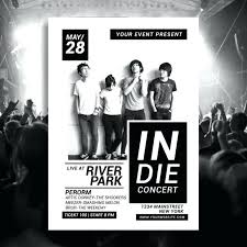band flyer generator gig flyer template concert flyer template live concert flyer poster