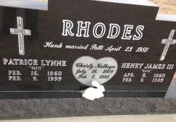 Christy Kathryn Rhodes (1989-1995) - Find A Grave Memorial