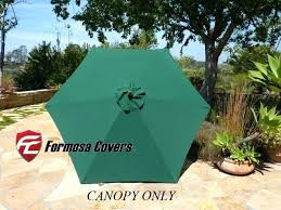 umbrella replacement canopy 6 ribs patio