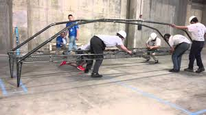Asce Ksu Steel Bridge Competition Build 2016 Youtube