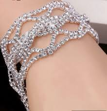 b42 crystal rhinestone bracelet jewelry for peion