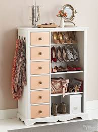 furniture for shoes. After: Shoe Showpiece -- Showcase Accessories By Removing The Main Cabinet Door, And Furniture For Shoes