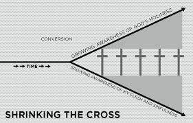 Gospel Centered Life Cross Chart Shrinking The Cross The Gospel Centered Life