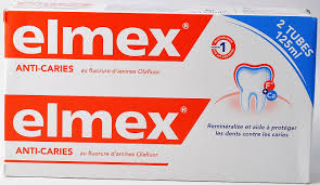 dentifrice elmex dentifrice anti caries 125 ml x 2 5081351 securemail fr