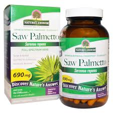 Nature's Answer <b>Saw Palmetto</b>, <b>Full Spectrum</b> Herb, 690 mg, 120 ...