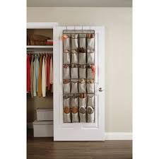 Shoe Organizer Better Homes And Gardens 24 Pocket Over The Door Shoe Organizer