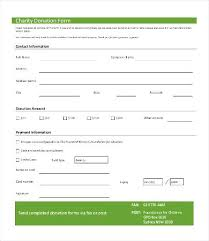 Church Pledge Form Template Sample Cards For Fundraising Systems