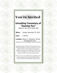 Sample Invitation Cards Tombstone Unveiling Invitation Cards Examples Archives Valid