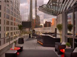 Living Room Bar And Terrace W New York Downtown Living Room Bar And Terrace Living R Flickr