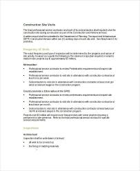 14 Visit Report Examples Samples Pdf Doc Apple Pages Google