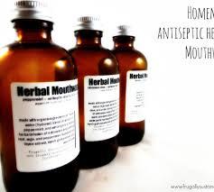 antiseptic homemade mouthwash recipe
