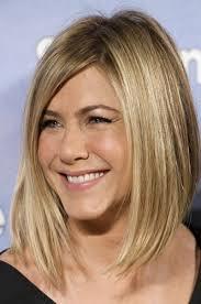Coupe Femme Visage Long Cheveux épais Blonds