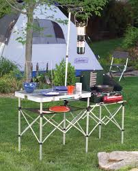 Camping Kitchen Amazoncom Coleman Pack Away Kitchen Camping Tables Sports