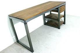 metal office tables. Office Table Legs Industrial Metal Desk Vintage Stainless Tables