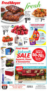 the new fred meyer ad started yesterday sunday july 9th and runs through saay july 16th as always make sure to check out fred meyer s es