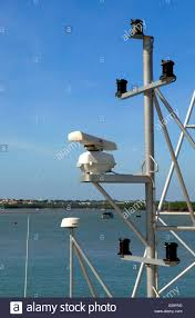What Is A Masthead Light Ships Masthead With Radar And Navigation Lights Stock Photo