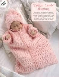 Crochet Baby Bunting Pattern