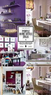 purple office decor. Color Style Guide: Purple Home Office Ideas Decor Pinterest