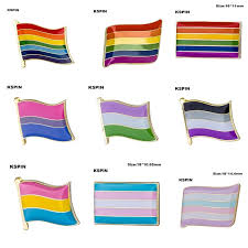 Lgbt Pride Rainbow Flag Pinback Button Badge Support Gay