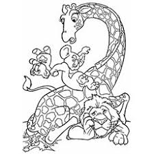 printable pictures of animals to color. Fine Printable Lion And Giraffe Coloring Pages Inside Printable Pictures Of Animals To Color G