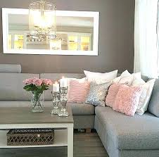living room with light gray couch small grey couch terrific grey sofa living room velvet ideas light grey letter l sofa pink decorative cushions small grey