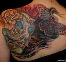 татуировки маска 4 Tatufotocom