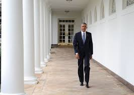 us president barack obama walks down the colonnade from the oval office barack obama enters oval