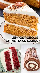 40 Easy Christmas Cake Recipes Best Holiday Cake Ideas