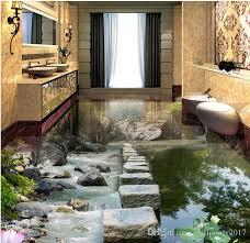white tile floor bedroom.  White Wallpaper For Bedroom Stream Stone Pier Lotus Flow 3d Floor Tiles  Painting White Desktop Backgrounds  With Tile T