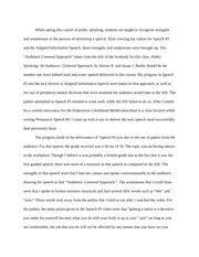 speech critique essay a successful public speaker does not 3 pages self speech critique essay