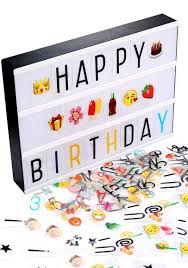 led lightbox the coolest birthday gifts for tweens
