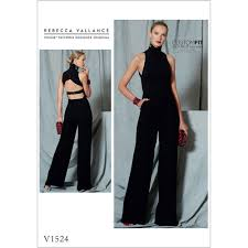 Jumpsuit Pattern Vogue Inspiration Misses OpenBack Belted Jumpsuit Vogue Sewing Pattern 48 Sew
