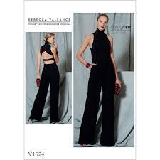 Jumpsuit Pattern Vogue Inspiration Misses OpenBack Belted Jumpsuit Vogue Sewing Pattern 48 Sew