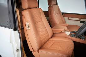 9 k2 rrc restomod hexagon pattern leather seats