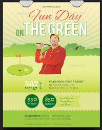 Fundraising Flyer Ideas Golf Fundraiser Flyer Template Fundraisers Flyers Templates