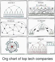 Amazon Facebook Apple Google Micro Soft Oracle Org Chart Of