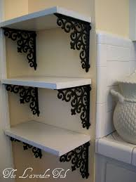 10 low budget diy home decoration projects elegant shelves for display