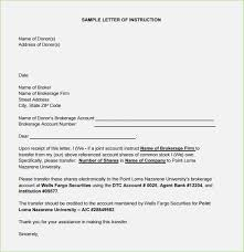 Letter Of Instruction Format Rome Fontanacountryinn Com
