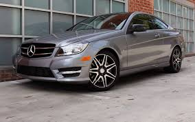 2013 Mercedes-Benz C250 Coupe W/Sport Package First Drive