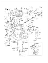 Powersports kawasaki kx250 1993 cylinder headcylinder 12 c153503 e1110 cylinder head cylinder 1 2 kx 125 engine diagram new kx 125 engine diagram new