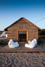 Small beach house Nice Sandy Ground And Wooden Frames Are An Apparently Simple Attempt At Making The Space Reciprocal Relationship With The Beach Landscape Designrulz Top 10 Most Beautiful Beach Houses Across The World Presented On